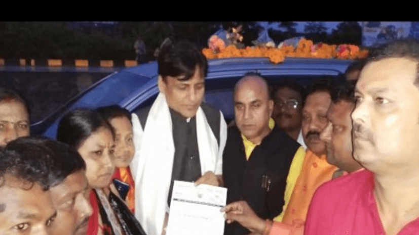 गृह राज्य मंत्री का काफिला रोक बिहार के सीमांचल में NRC लागू करने की मांग