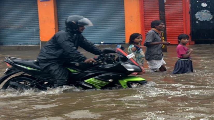 मौसम विभाग अपडे़ट-- सोमवार को भी कई जिलों में भारी बारिश का रेड अलर्ट