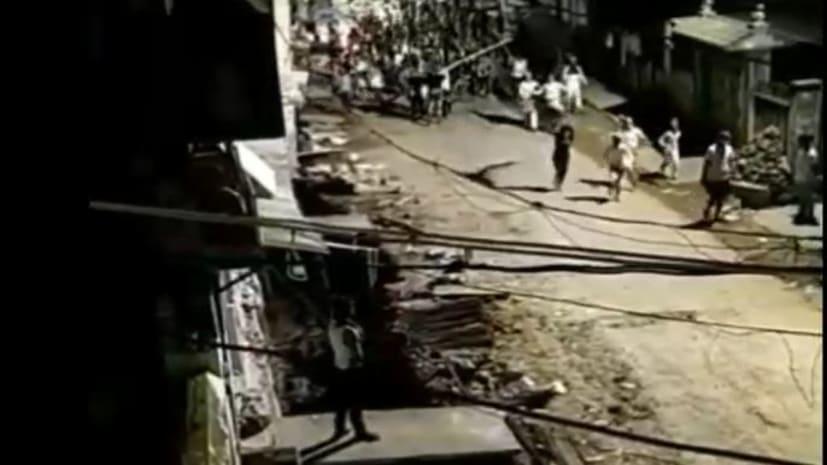 भागलपुर में पैकरों ने जमकर मचाया उत्पात, पुलिस टीम पर हमला, कई घायल