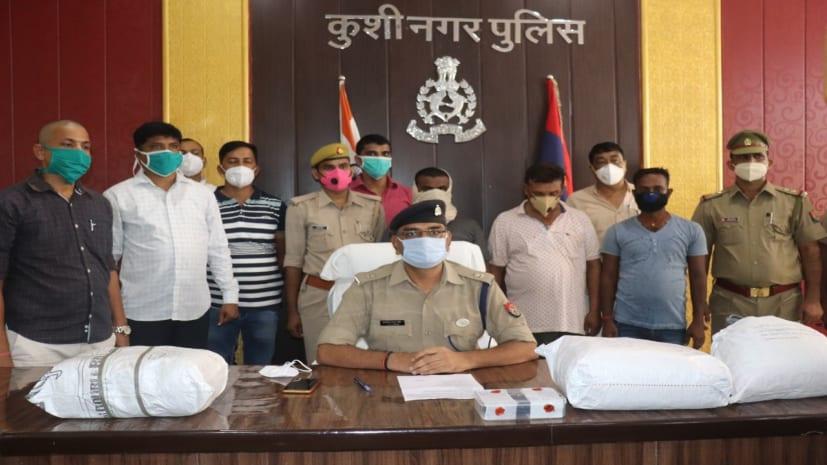 उड़ीसा से तस्करी कर यूपी- बिहार में गांजा बेचने वाले गिरोह का पर्दाफाश, पुलिस ने 3 तस्कर को किया गिरफ्तार