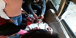 तेज रफ्तार का कहर: अनियंत्रित ट्रक ने साइकिल सवार शिक्षक को कुचला, हालत गंभीर