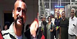 कुछ ही देर में दिल्ली पहुंचेंगे विंग कमांडर अभिनंदन, माता-पिता और पत्नी से करेंगे मुलाकात