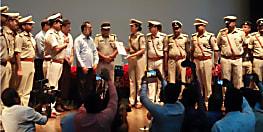 अच्छे कार्य करने का मिला इनाम, सिपाही से लेकर एसएसपी तक 315 पुलिसकर्मियों को किया गया सम्मानित