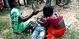 नवादा में पत्थर से कुचलकर युवक की हत्या, आक्रोशित लोगों ने किया सड़क जाम