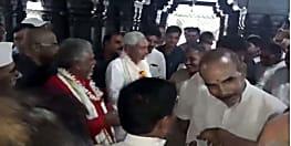 गया दौरे पर मुख्यमंत्री नीतीश कुमार, विष्णुपद मंदिर में की विशेष पूजा अर्चना