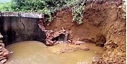 लगातार हो रही बारिश से डैम पर बढ़ा पानी का दवाब, चालीस गांवों पर मंडराया बाढ़ का खतरा