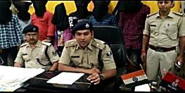 मुंगेर पुलिस को मिली बड़ी सफलता, पूर्व सैनिक के घर डकैती के मामले में 7 अपराधी गिरफ्तार