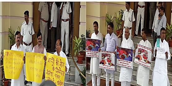 राजद-कांग्रेस में बढ़ी दूरी, सदन में एक-दूसरे के विरोध से किया किनारा