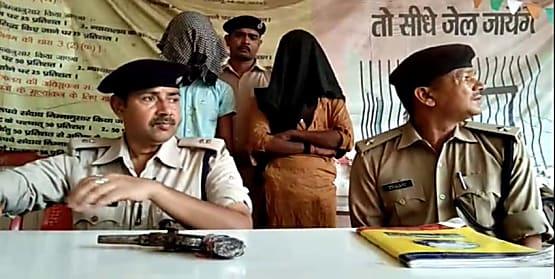 इलाज कराने आये दम्पति से अपराधियों ने लुटे 5 हज़ार रुपये, लोगों ने पकड़ कर किया पुलिस के हवाले