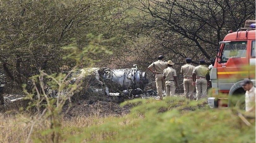 एयरफोर्स का मिराज-2000 विमान क्रैश, दो की मौत