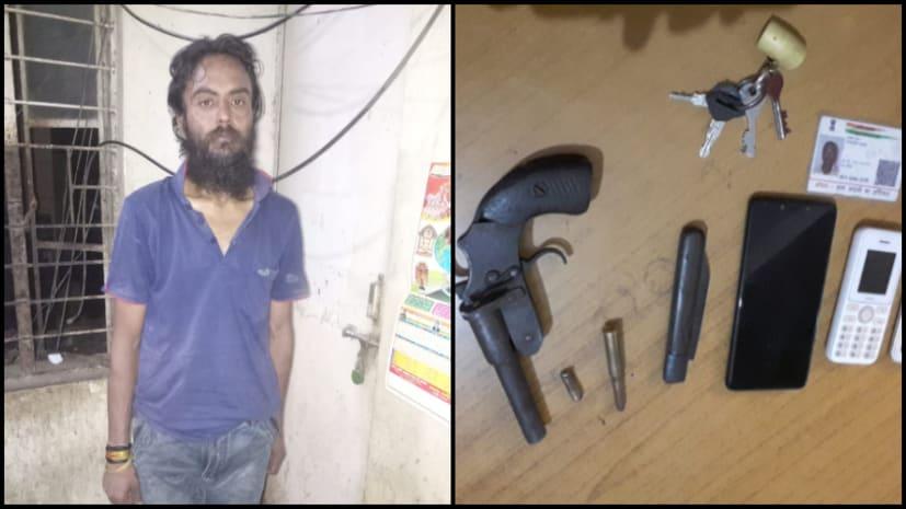 पटना पुलिस को मिली सफलता, जक्कनपुर थाना इलाके से अपराधी अभिषेक कुमार को किया गिरफ्तार