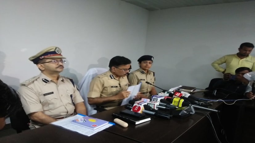पंचवटी रत्नालय सोना लूट कांड में पुलिस का बड़ा खुलासा, तीन किलो सोना के साथ 3 गिरफ्तार
