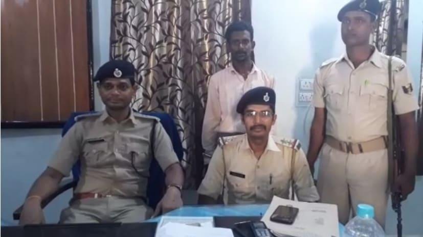 पुलिस ने किया शर्मा मुसहर कांड का खुलासा, मुख्य आरोपी को किया गिरफ्तार