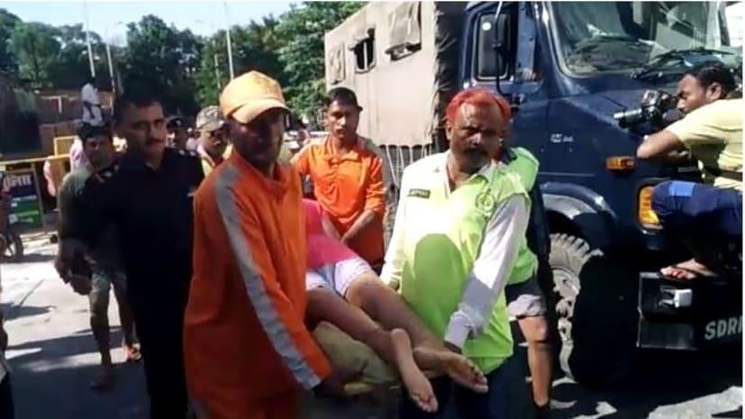 पटना में जलजमाव का कहर, राहत और बचाव कार्य में जुटी एनडीआरएफ और एसडीआरएफ की टीमें