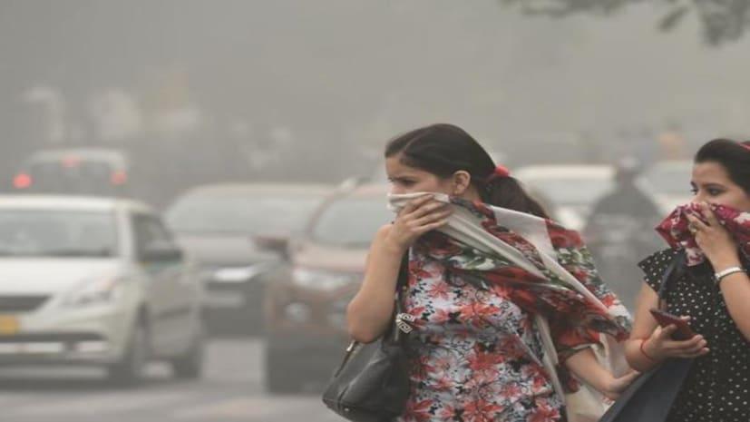 पटना में नहीं थम रहा पॉल्यूशन अटैक, टॉप 5 शहरों में सूबे की राजधानी भी