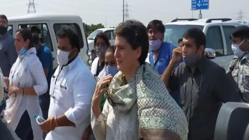 हाथरस जाने से पुलिस के रोकने पर बोलीं प्रियंका गांधी- गुस्सा चढ़ता है, मेरी भी 18 साल की बेटी है
