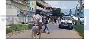 डिप्टी सीएम सुशील मोदी के आवास का जाप कार्यकर्ताओं ने किया घेराव, दो लोगों को पुलिस ने किया गिरफ्तार
