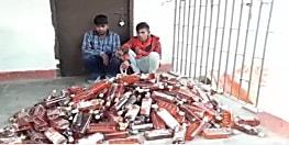भारी मात्रा में विदेशी शराब जब्त, शराब तस्करी मामले में बड़ा खुलासा