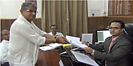NDA प्रत्याशी ललन सिंह ने मुंगेर से किया नामांकन, समर्थकों की उमड़ी भीड़