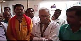 मंत्री बनने के बाद अपने विधानसभा क्षेत्र पहुंचे नरेन्द्र नारायण यादव, बोले योजनाओं में लाई जाएगी तेजी