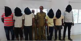 सीतामढ़ी में अंतरजिला गिरोह का पुलिस ने किया पर्दाफाश, छह को किया गिरफ्तार