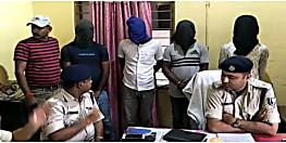 जहानाबाद पुलिस ने अपराधी को किया गिरफ्तार, व्यवसायी को गोली मार कर 5 लाख लुटने का आरोप
