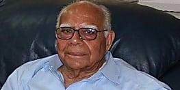 बड़ी खबर : राज्य सभा  सांसद व देश के वरिष्ठ वकील राम जेठमलानी का निधन