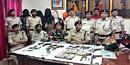 ऑपरेशन नकेल का असर : पुलिस ने हथियार और नगद के साथ 11 अपराधियों को किया गिरफ्तार
