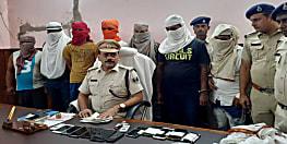 ट्रक ड्राईवर और खलासी की हत्या की पुलिस ने सुलझाई गुत्थी, आठ को किया गिरफ्तार