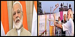 विजयादशमी पर पीएम मोदी ने देशवासियों को दी दशहरा की बधाई