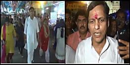 कॉमन मैन बने केंद्रीय गृह राज्य मंत्री नित्यानंद राय, हाजीपुर में बच्चों के साथ दशहरे का मेला घूमते दिखे