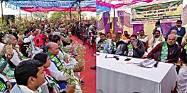 जल-जीवन-हरियाली मिशन को सफल बनाने में जुटी JDU, मंत्री श्रवण कुमार ने कार्यकर्ताओं को बांटे पौधे