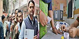 दिल्ली विधान सभा चुनाव : कड़ी सुरक्षा के बीच वोटिंग जारी, 10 बजे तक 4.33 फीसदी हुआ मतदान
