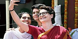 प्रियंका गांधी के बेटे रेहान ने पहली बार डाला वोट, कह दी बड़ी बात
