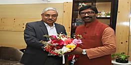 मुलाकात : मुख्यमंत्री हेमंत सोरेन से मिले नवनियुक्त महाधिवक्ता राजीव रंजन