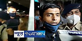 देर रात पटना लौटे IPS विनय तिवारी, रिसीव करने पहुंचे DGP गुप्तेश्वर पांडेय, एयरपोर्ट पर बोले- बहुत गलत व्यवहार किया गया