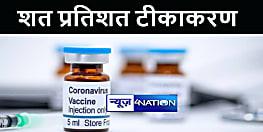 बिहार के इस प्रखंड की महत्वपूर्ण उपलब्धि, 18 साल से ऊपर के लोगों का हुआ शत प्रतिशत टीकाकरण
