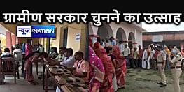 कड़ी सुरक्षा के बीच पंचायत चुनाव के तीसरे चरण के लिए हो रहा मतदान, केंद्रों पर दिख रही भीड़