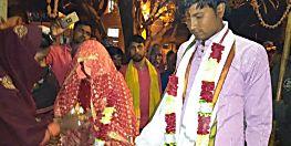 आरा में प्रेमी युगल की थाना परिसर में रचाई गई शादी, माता-पिता ने दिया आशीर्वाद