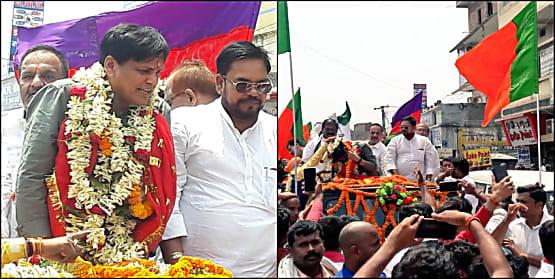 नामांकन के बाद बोले नित्यानंद राय- काराकाट के भगोड़े की जमानत जब्त करवा देगी उजियारपुर की जनता