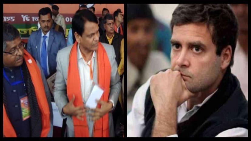बीजेपी का कांग्रेस पर बड़ा हमला, कहा- देश लूटने में गजनी को पीछे छोड़ दिया राहुल गांधी परिवार
