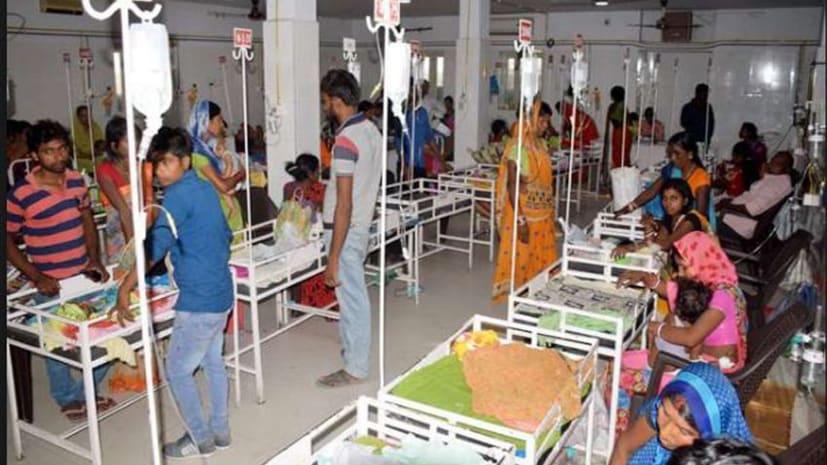 मुजफ्फरपुर के बाद अब शिवहर और सीतामढ़ी भी चमकी बुखार की चपेट में, 1 बच्चे की मौत 8  SKMCH में भर्ती