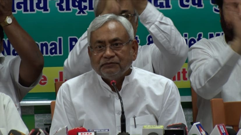 सीएम नीतीश बोले- हम मोदी जी के साथ, कोई एक मंत्री नहीं रहेगा उससे क्या फर्क पड़ेगा?