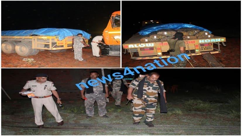 नवादा एएसपी अभियान की स्वाट टीम की बड़ी कार्रवाई, छापेमारी कर बरामद किए चोरी के करोड़ो रुपये के छड़