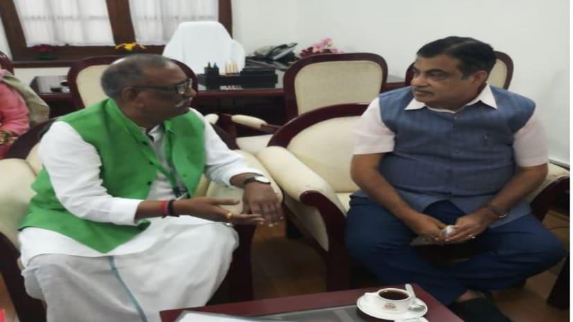 जहानाबाद सांसद ने नितिन गडकरी से की मुलाकात, पटना-डोभी फोर लेन परियोजना को शीघ्र पूरा कराने की मांग