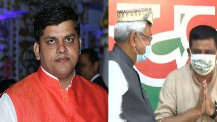 सीएम नीतीश ने निश्चय संवाद में मिथिला का बढ़ाया सम्मान : रंजीत झा