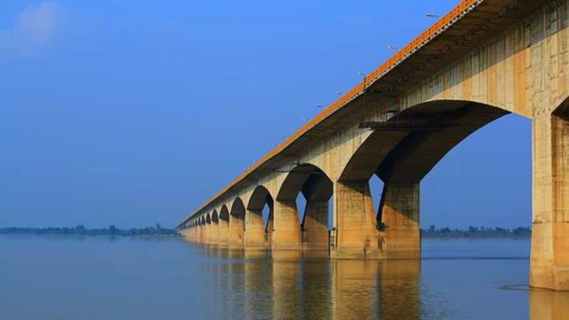 उत्तर और दक्षिण बिहार को जोड़ने वाले महात्मा गांधी सेतु का दोनों लेन मार्च 2022 तक होगा चालू