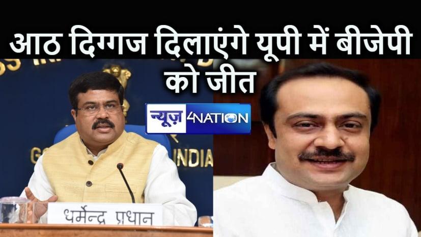 BREAKING NEWS : BJP ने धर्मेंद्र प्रधान को बनाया UP चुनाव का प्रभारी, CP ठाकुर के बेटे विवेक ठाकुर समेत 7 नेताओं को बनाया गया सह-प्रभारी