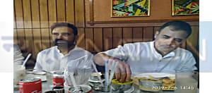 राहुल गांधी अचानक पहुंच गए बसंत विहार,जमकर उठाया डोसा का लुफ्त