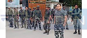 धारा 370 हटाए जाने के बाद नवादा में रेड अलर्ट, जिले में चप्पे-चप्पे पर सशस्त्र बल तैनात
